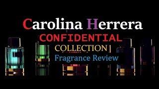 Carolina Herrera Confidential Fragrance Collection