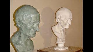 """Экспресс-курс """"Лепка черепа и головы"""" (Уроки скульптуры и рисунка)"""