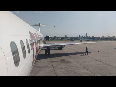 Andes Líneas Aéreas - Vuelo inaugural - Buenos Aires - Mar del Plata - LV-CCJ