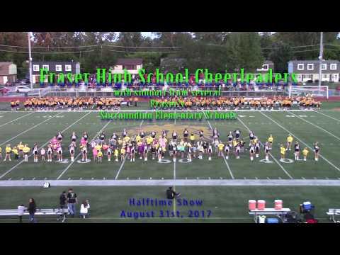 Fraser High School Cheerleaders - Halftime Routine- Aug 31st 2017