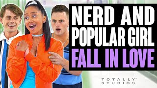 NERD and POPULAR GIRL FALL IN LOVE. The Ending is a Shock. Totally Studios.