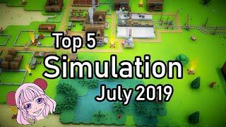 Top 5 Upcoming Simulation Games [July 2019]