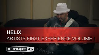 Artists Experience Helix For The First Time | Line 6