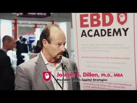 BIO-Europe® 2017: Joseph S. Dillon, Ph.D., MBA on EBD Academy's Advanced Business Development course
