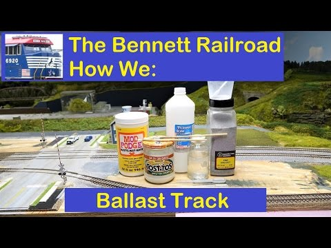 "Bennett RR: ""How We"" Series: Ballast Track"