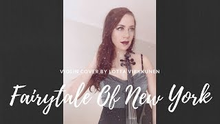 Fairytale Of New York Violin Cover / Lotta Virkkunen, Violin