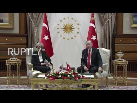 Turkey: May says human rights obligations must be upheld after approving €117 mil fighter jet deal