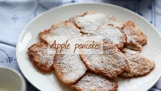 Apple pancakes | Video recipe