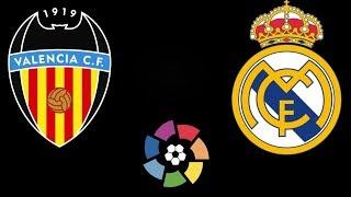 Валенсия Реал Мадрид / ЛаЛига / Смотрю матч