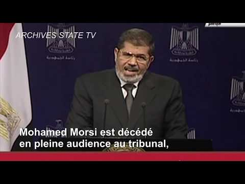 Mohamed Morsi discrètement enterré au Caire | AFP News
