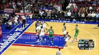 Philadelphia 76ers vs Boston Celtics Partido Pretemporada 2014