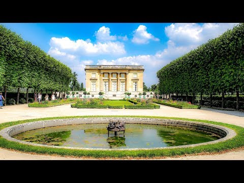 A  Walk Around The Petit Trianon, Chateau de Versailles, Fra