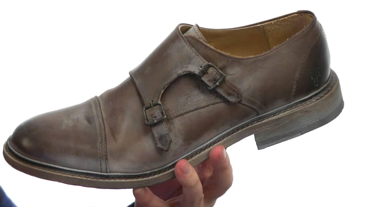 frye shoes monk strap