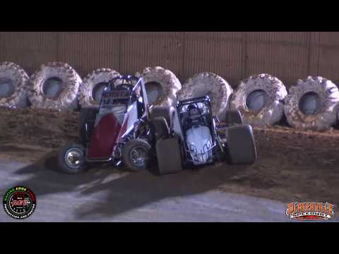 Placerville Speedway 4-28-18 Hunt Magnetos Wingless Sprint Cars Main Highlights