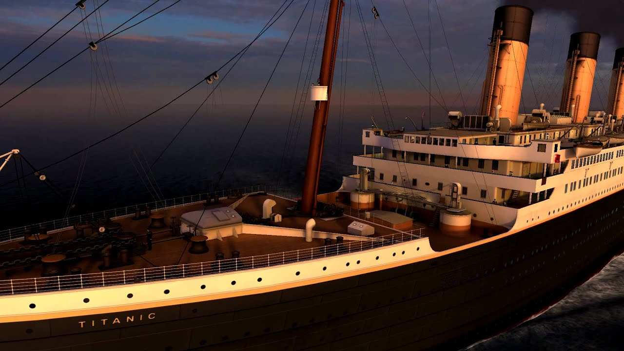 3d Animated Screensaver Wallpaper Titanic Memories 3d Screensaver 3planesoft Youtube