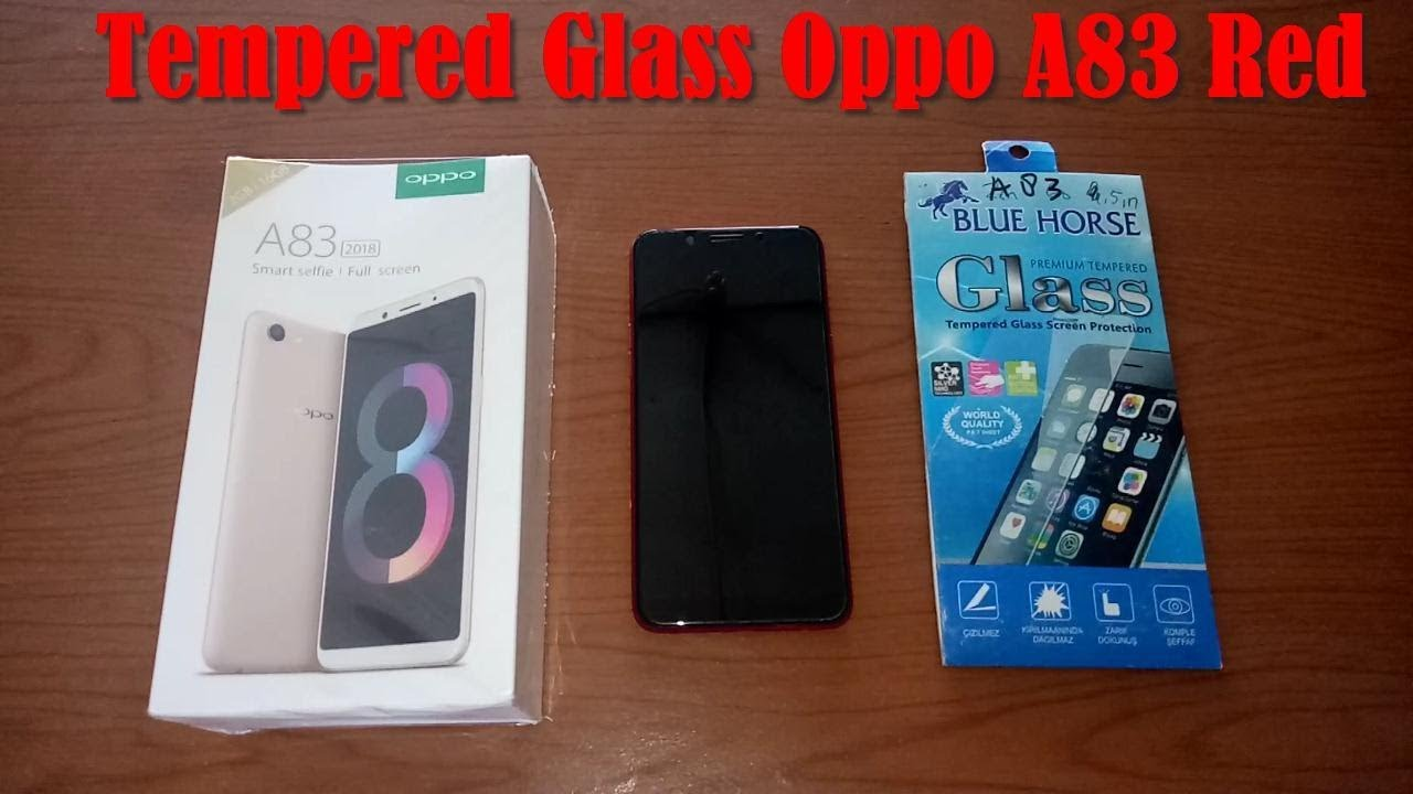 How To Install Tempered Glass Screen Protector For Oppo A83 Red Full Layar F1s