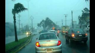 HURACAN KARL 2010  BOCADEL RIO Y VERACRUZ. PARTE 1