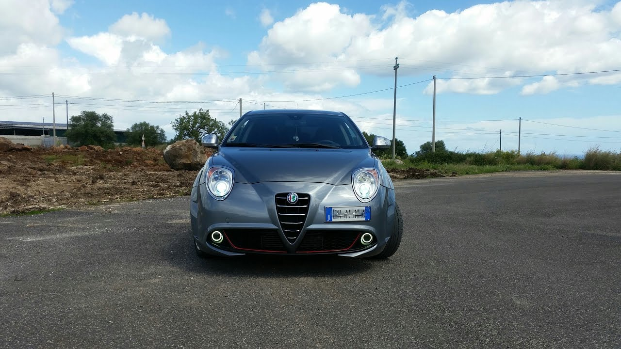 fendinebbia angel eyes  Modifica fendinebbia con Angel Eyes su Alfa Romeo MiTo - YouTube