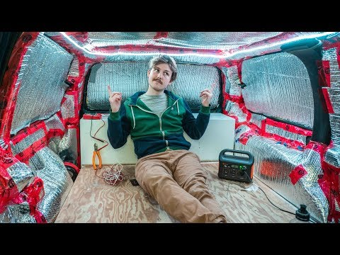 Complete Guide : How to Install LED light Strips In a VAN for Vanlife and van living.