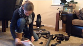 Assembling My New Exercise Bike: Schwinn 170(Day 170! Give me a thumbs up for working out another day and Subscribe to my channel!!! Comment below with your favorite workouts or other things you'd like ..., 2016-01-23T18:03:58.000Z)