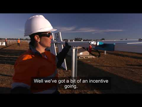 A Quiet Evolution - Parkes Solar Farm