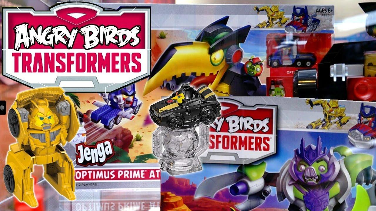 Angry Birds Transformers se dévoile en vidéo  PlaySmart  Jeux Vidéo