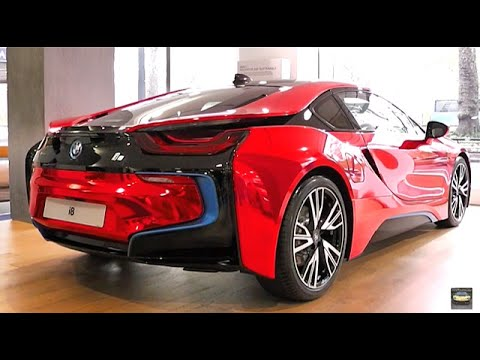 Stunning Chrome Red Bmw I8 Youtube