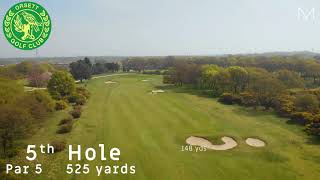 Orsett Golf Club 5th Hole Flyover