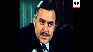SYND 13 12 78 PIK BOTHA PRESS CONFERENCE ABOUT SOUTH WEST AFRICAN ISSUES