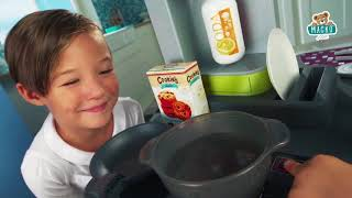 Játékkonyha gyerekeknek Tefal Studio BBQ Buborékok