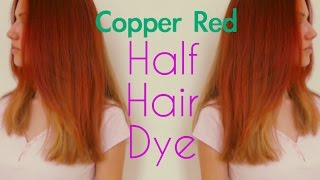 Copper Red Half Head Dying | Stella Thumbnail