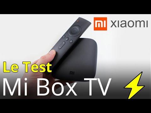 Test Xiaomi Mi Box TV : Un vrai Android TV 4K @ 60Hz qui décode la H.265 10bit en français fr