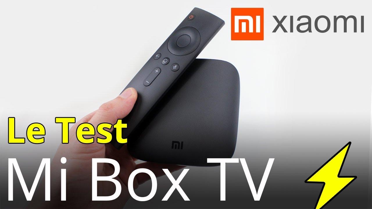 test xiaomi mi box tv un vrai android tv 4k 60hz qui