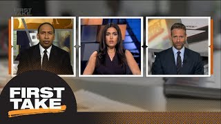 LeBron James opts out of Cavaliers contract to become unrestricted free agent | First Take | ESPN thumbnail