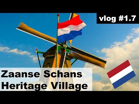 Zaanse Schans (Amsterdam). Guide, how to get there AND WINDMILLS! #vlog 1.7