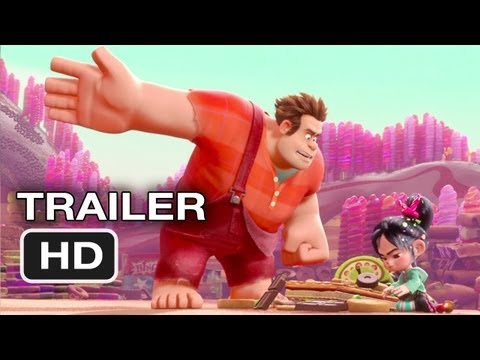 Wreck-It Ralph Official Trailer #2 (2012) Disney Animated Movie HD