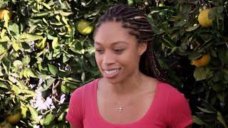 Olympic Champion Allyson Felix Surprises Her Beloved Aunt