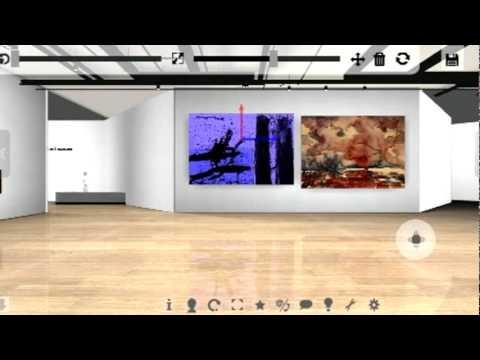 3d virtual art gallery youtube 3d virtual art gallery toneelgroepblik Gallery