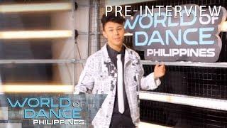 World Of Dance Philippines: Ken San Jose | Pre-Interview