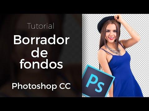 Elimina fondos con esta gran herramienta en Photoshop CC
