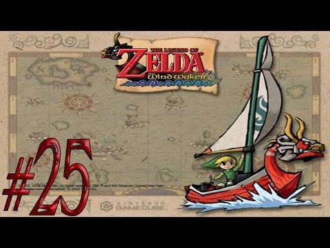 The Legend of Zelda: The Wind Waker ~All Treasure Charts~ Part 25