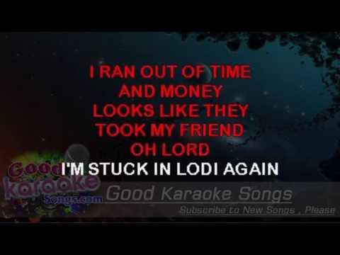 Lodi -  creedence clearwater revival (Lyrics Karaoke) [ goodkaraokesongs.com ]