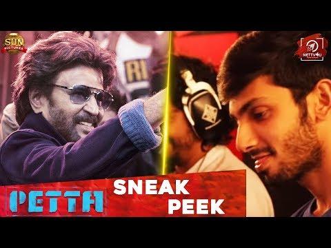 Petta ULLAALLAA SNEAK PEEK - PETTA 2nd SINGLE | Rajinikanth | Karthik Subbaraj | Vijay Sethupathi