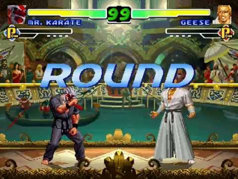 Mugen - Mr. Karate Playthrough