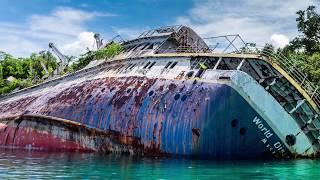 Most INSANE Abandoned Ships