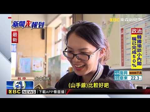 山手線vs. 藍線 台中市民「捨火車推捷運」