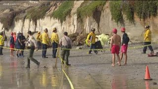 3 dead, 2 injured in bluff collapse in Leucadia