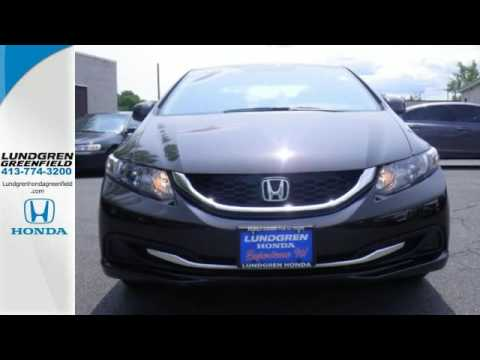 2013 Honda Civic Greenfield MA Pittsfield, MA #U0403