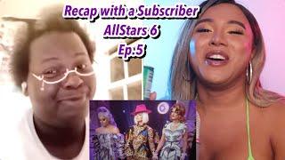 Recap with a Subscriber | AllStars 6 Episode 5 Pink Table Talk