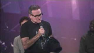 Robin Williams Hijacks TED BBC conference